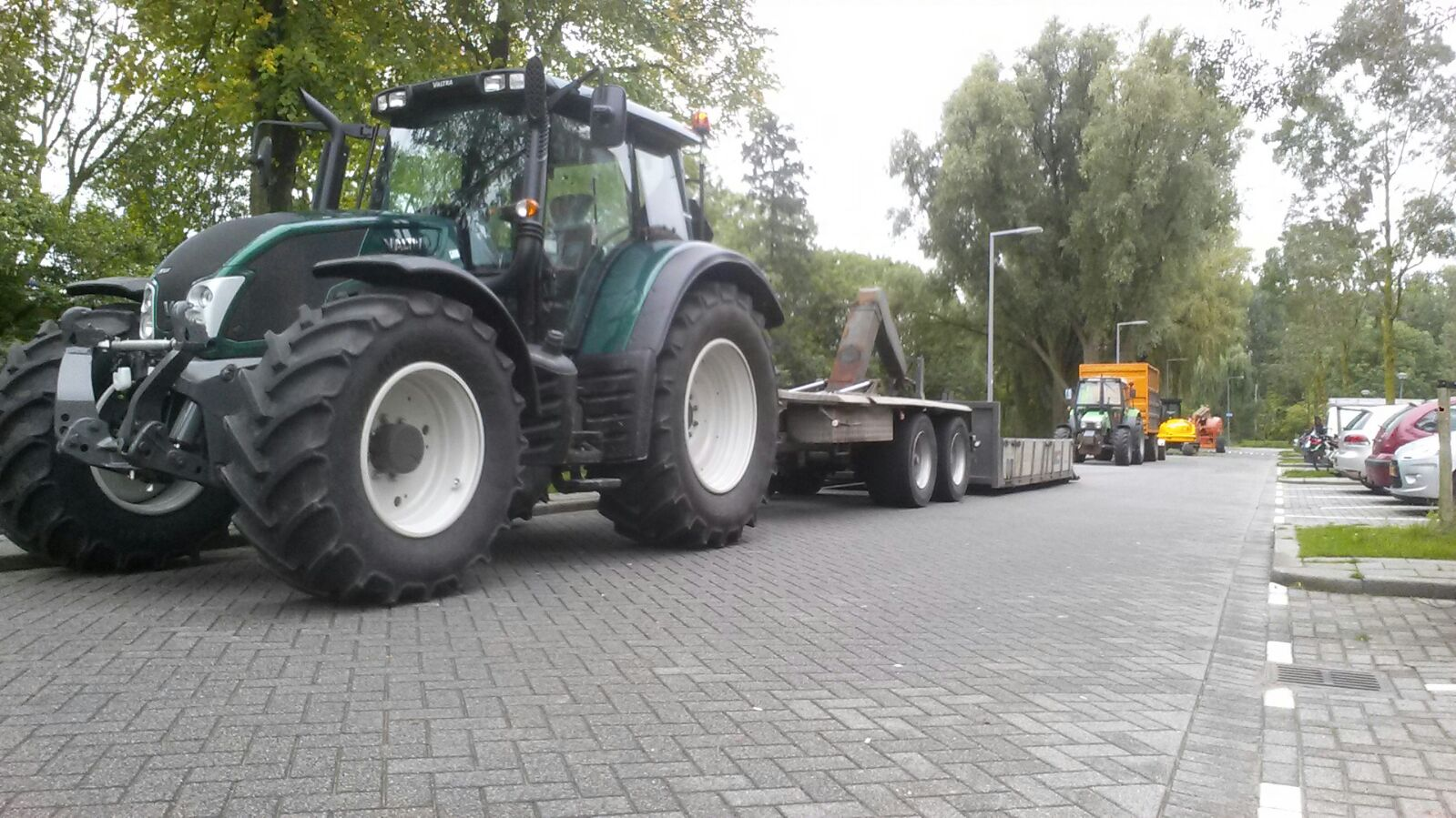 Valtra n123 direct met haakarm