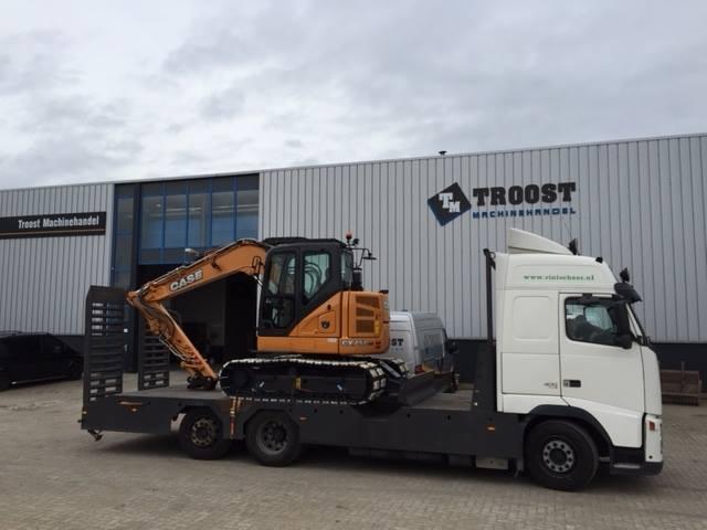 Vrachtwagen met nieuwe Case cx75c